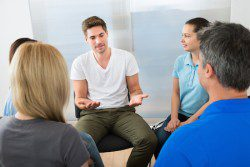 Support Group to help addicted man
