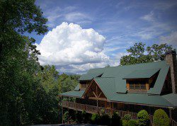 The main lodge at Black Bear Lodge
