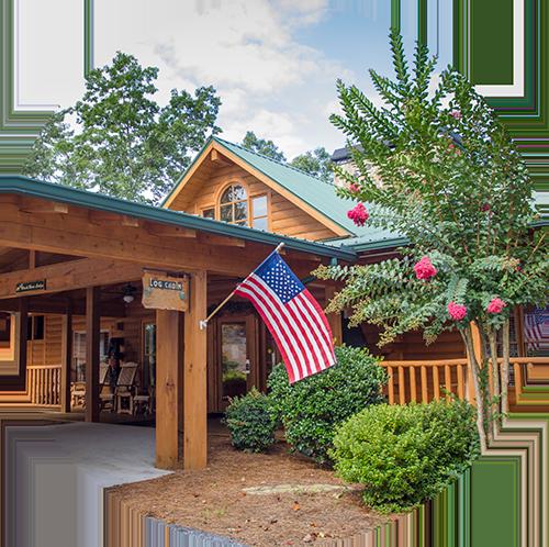 Black Bear Lodge Front Entrance