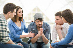 Support Group about health problems and addiction